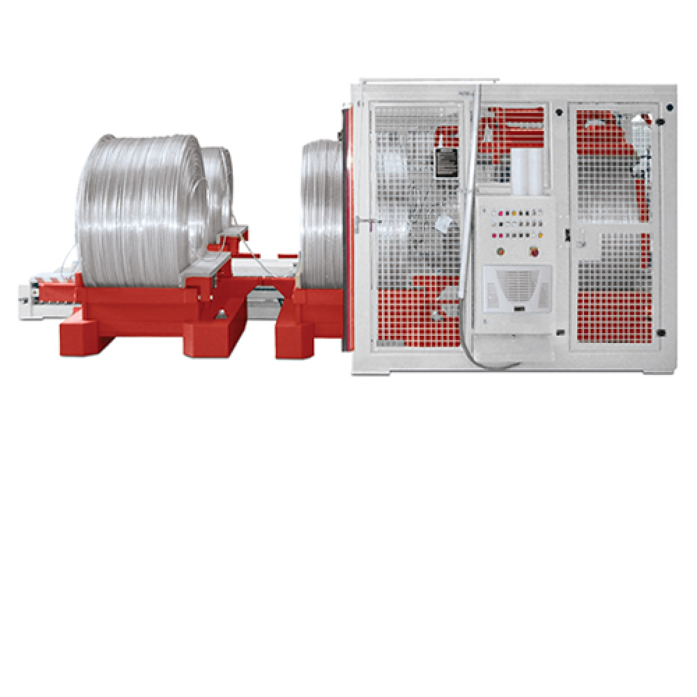 AAH - Continuous Wire Coil Pay-off Coilablauf