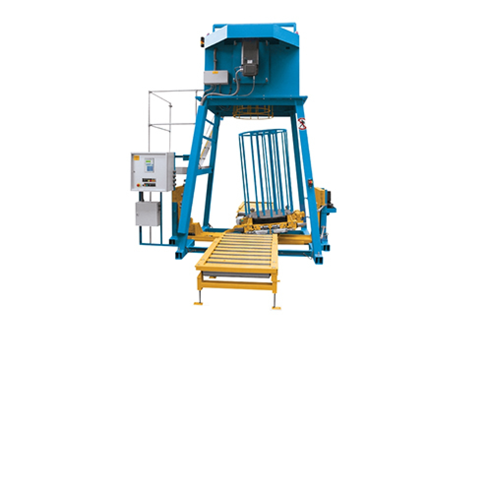 STN 650 E.A/STN 800 E.A - Barrel Coiler with Swash Rotary Table
