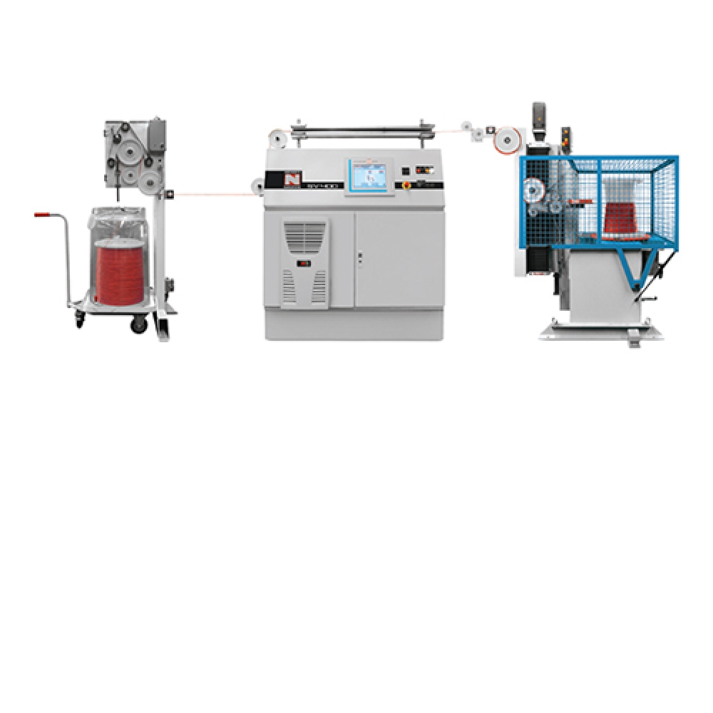SV 400 - Rewinding System for Insulated Wires