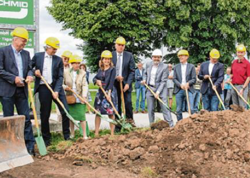 Groundbreaking ceremony at 14.06.2018 - press report Allgäuer Zeitung